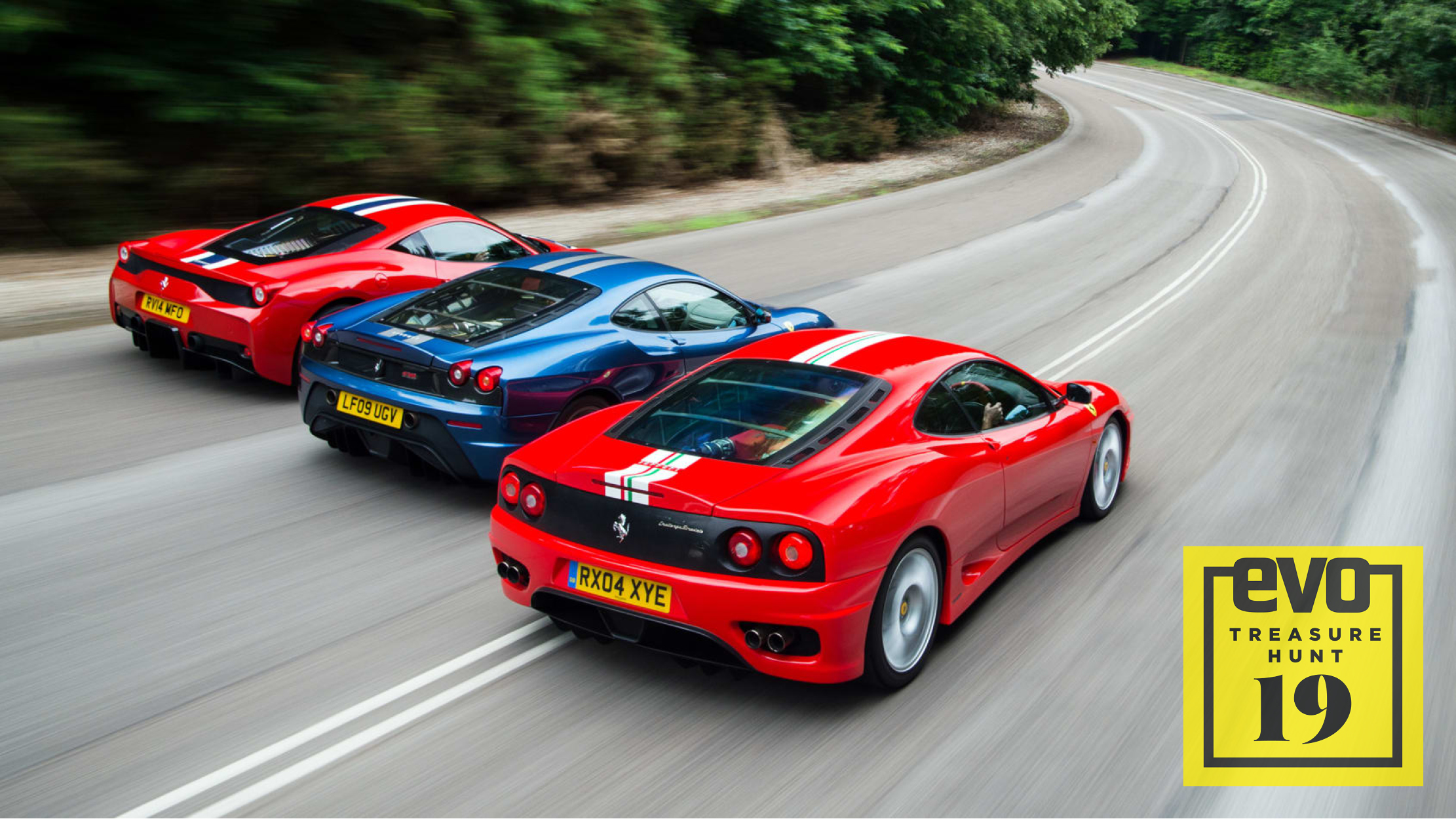 Ferrari Lightweight Specials 458 Speciale Vs 430 Scuderia Vs 360 Challenge Stradale Evo