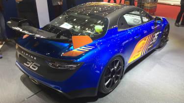 Alpine A110 GT4 – rear quarter