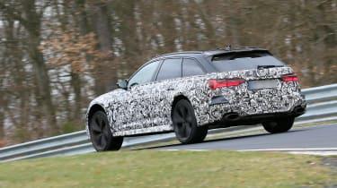 Audi RS6 Avant spied 2019 (body-on) - quarter
