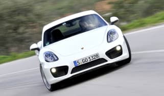 2013 Porsche Cayman S slide skid drift sideways
