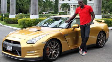 Usain Bolt Nissan GT-R special edition