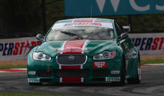 Jaguar XFR touring car