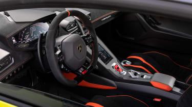 Lamborghini Huracan STO (International) – interior