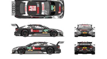 2017 Audi RS5 DTM – Team Rosberg, René Rast