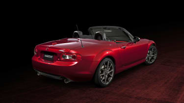 Mazda MX-5 25th Anniversary Soul Red rear