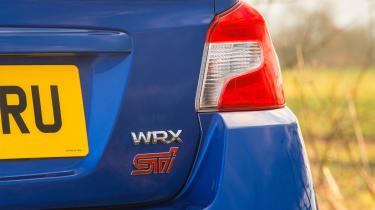 Subaru WRX Final Edition – rear close-up
