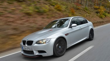 BMW M3 CRT saloon