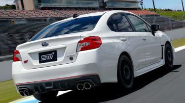 Subaru WRX STI Type RA-R - rear\