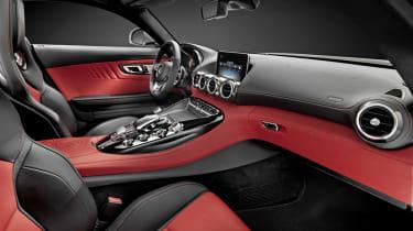 Mercedes AMG GT interior dashboard