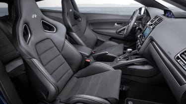 New VW Scirocco R sports seats