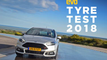 evo 2018 tyre test - front