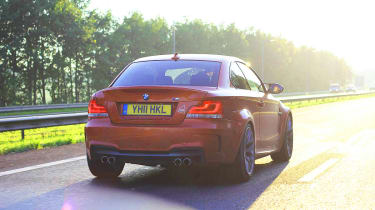 BMW 1-series M Coupe top speed run video
