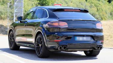 Porsche Cayenne Coupe spy