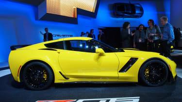 Chevrolet Corvette Z06 launched in Detroit