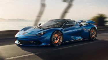 Pininfarina Battista front blue