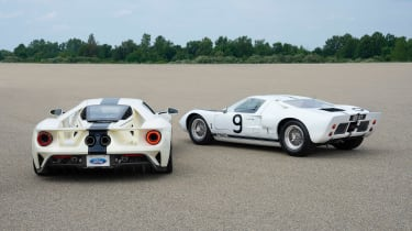 Ford GT Heritage Edition - rear twin