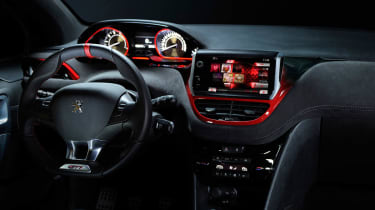 Peugeot 208 GTI Concept interior