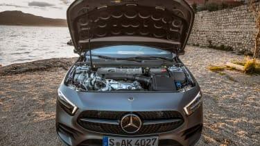 Mercedes A-class - bonnet