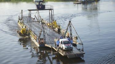 Fiat Panda Africa record run - Day 2 Ferry Crossing