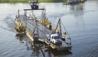 Fiat Panda Africa record run - Day 2 Ferry Crossing