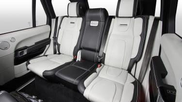Overfinch Range Rover rear seats