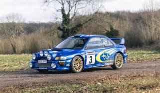 Subaru header