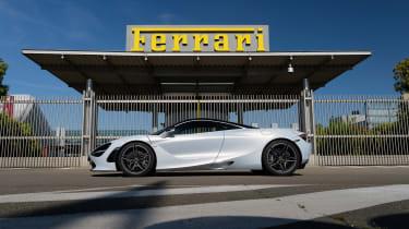McLaren 720S – side (Ferrari)