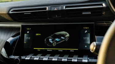 Peugeot 508 PSE – screen