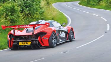 McLaren P1 GTR - rear cornering