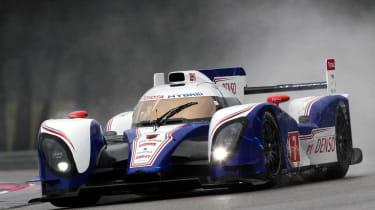 Toyota hybrid 2012 Le Mans 24 hour racer
