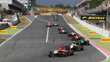 Dean Stoneman GP3 win Catalunya