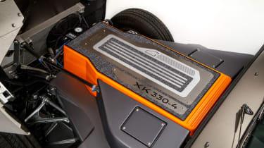 Jaguar Classic E-type Zero production - Electric motor