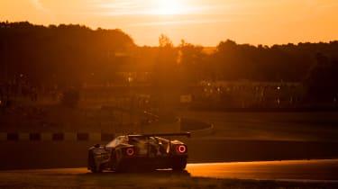 Le Mans 2017 -  Ford GT dusk rear