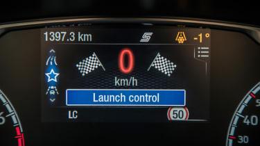 2018 Ford Fiesta ST –digital dash display