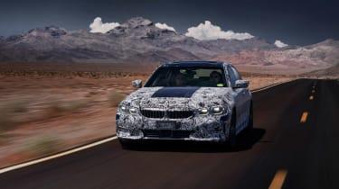 2019 BMW 3-series teaser -