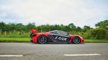 McLaren P1 GTR - side profile