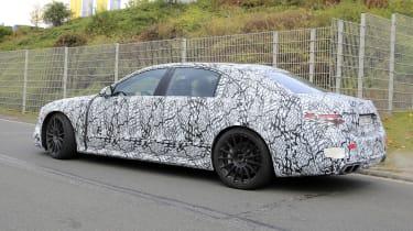 Mercedes-AMG S63 2021 spy rear