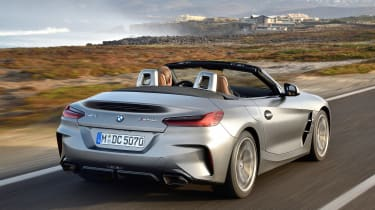 BMW Z4 M40i - rear quarter