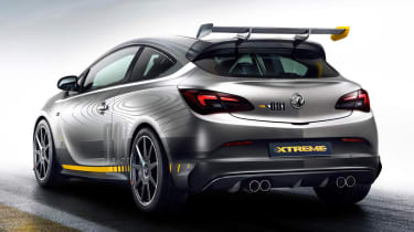 Vauxhall Astra VXR Extreme rear wing