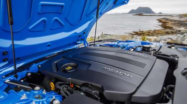 Jaguar F-type four-cylinder engine