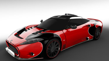 Spyker Aileron SE - front red
