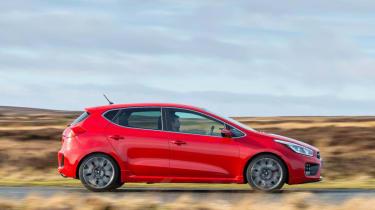 Kia Ceed GT five-door side profile