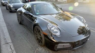 Porsche 911 spy - front