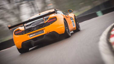 McLaren 12C GT Sprint rear