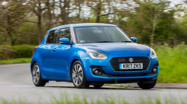 Suzuki Swift – front quarter