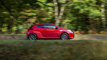 2020 Toyota GR Yaris Red - pan
