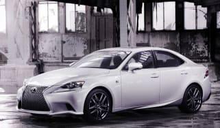 Lexus IS F-Sport unveiled