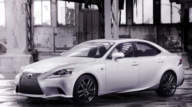 Lexus IS F-Sport unveiled