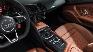Audi R8 Spyder facelift - console