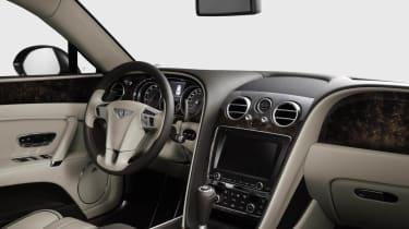 2013 Bentley Flying Spur dashboard steering wheel